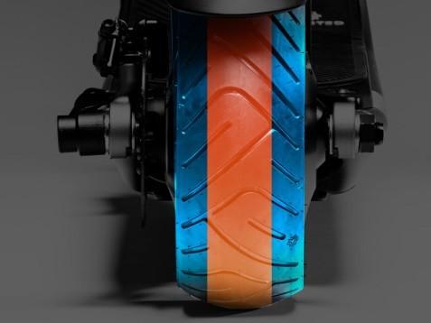 Boosted Rev pneu large 9 pouces