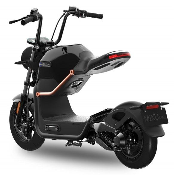 sunra miku max noir scooter electrique